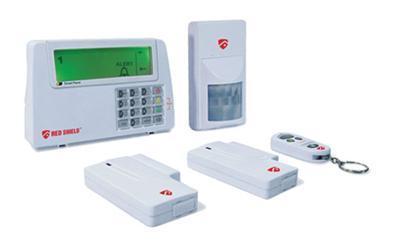 92902930 allarme wireless scudo bravo ld elettronica for Sistema allarme casa
