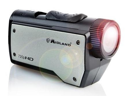 C1144 SPORTCAMERA ACTION XTC-260 CON FORMATO VIDEO MP4 HD (MIDLAND)