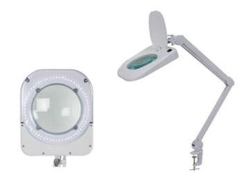 Vtllamp w lente d ingrandimento da tavolo con lampada a led