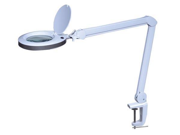 Vtllamp4w lente d 39 ingrandimento da tavolo con lampada a - Specchio con lente di ingrandimento ...